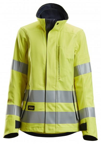 ProtecWork Hi-Vis Damen Arbeitsjacke, Klasse 2, EN 1149, 13034, 11611, 11612, 20471, IEC 61482