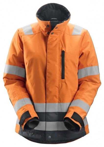 AllroundWork, Damen-High-Vis-Arbeitsjacke, Warnschutzklasse 2/3, Wärmeisolierung mit 37.5®-Technolog