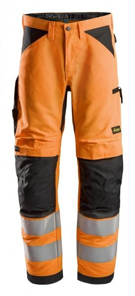 LiteWork, High-Vis-Arbeitshose+, Warnschutzklasse 2