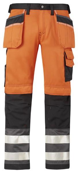 High-Vis Hose mit Holstertaschen, Klasse 2